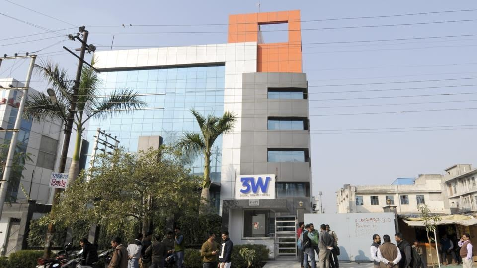 The office of 3W where the alleged fraud took place.