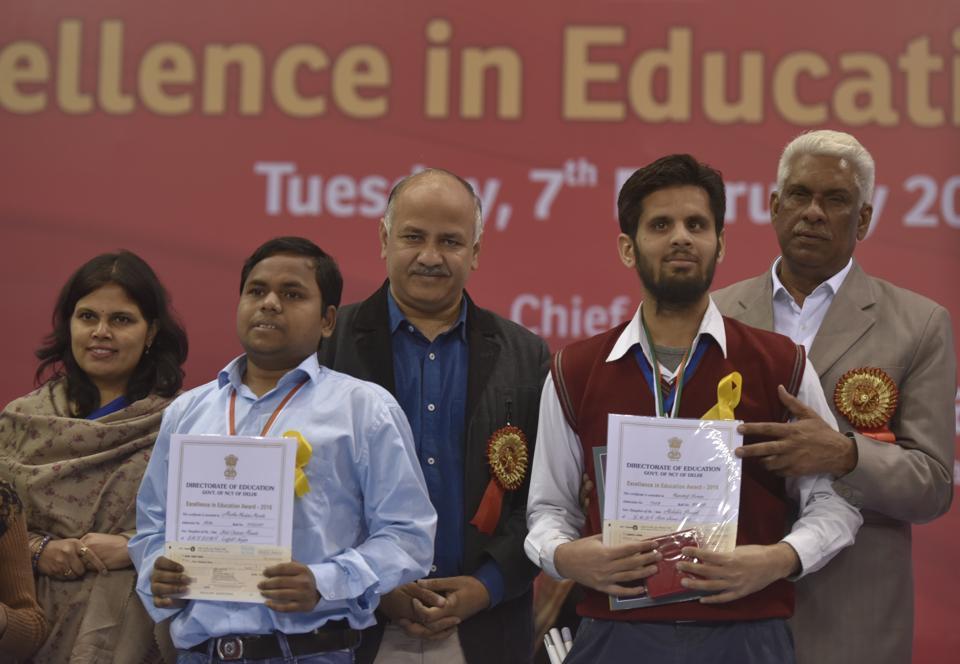 Manish Sisodia,Excellence in Education,Pratibha Vikas Vidyalaya