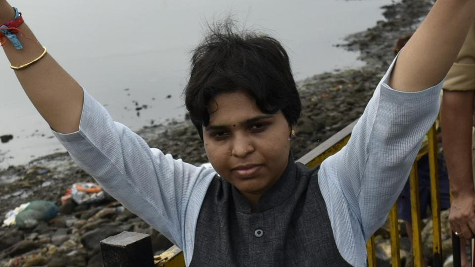Activist Trupti Desai has been fighting for women to be allowed in to religious spaces where they are banned from, such as the sanctum sanctorum of the Shani Shingnapur temple in Maharashtra.