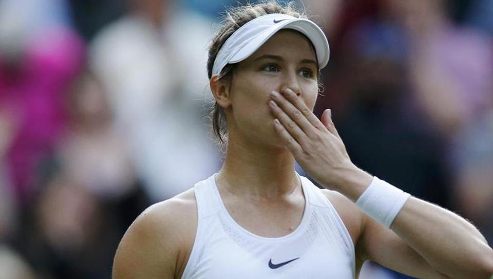 Eugenie Bouchard's best result in a Grand Slam has been the runner-up finish in 2014 Wimbledon.