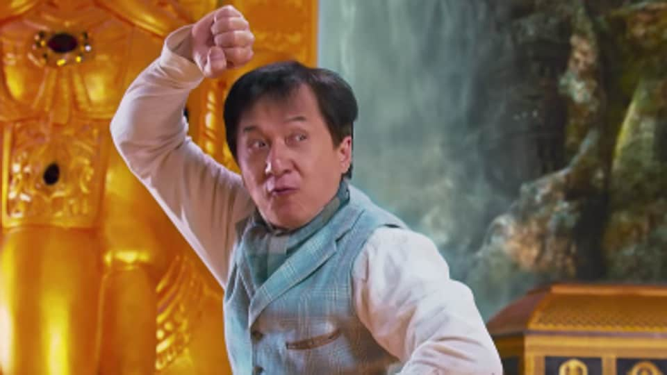 Jackie Chan plays an archaeologist in the film.