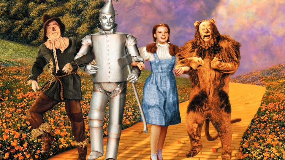 The Wizard of Oz made Garland a household name in 1939. It was nominated for six Oscars.