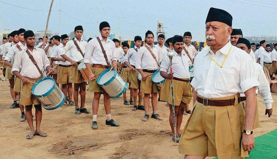In a remark likely to court controversy, RSS chief Mohan Bhagwat on Wednesday said every person born in India is a Hindu.