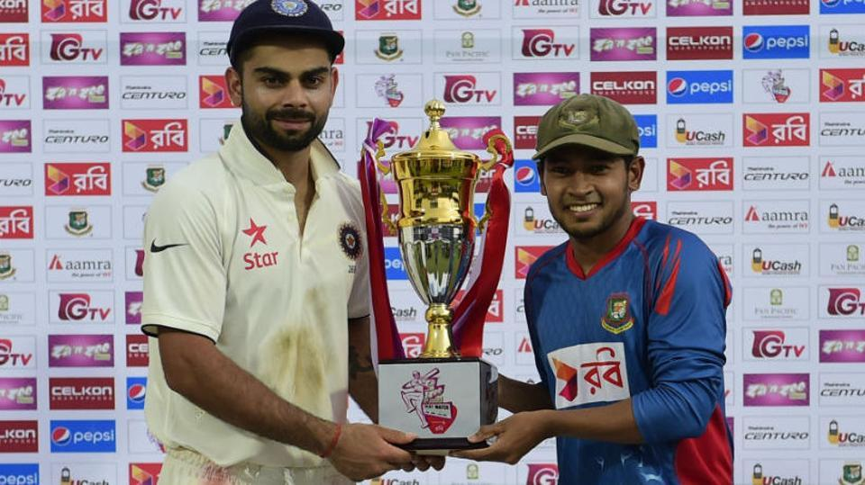 Live streaming of the India vs Bangladesh one-off Test in Hyderabad will be available online from Thursday. Catch Day 1 action live - where and when. India are batting after winning the toss.