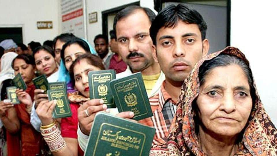 Minister of State for Home Affairs Kiren Rijiju on Wednesday said more than 1,200 Pakistani minority members have applied for Indian citizenship and more than 12,800 Pakistanis have applied for Long Term Visa.
