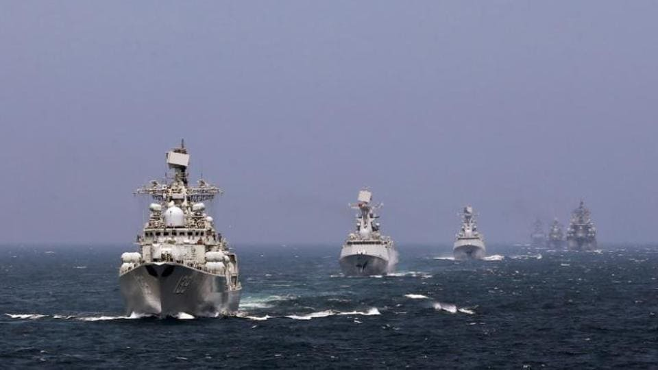 The drill will see the participation of the navies of 12 countries.