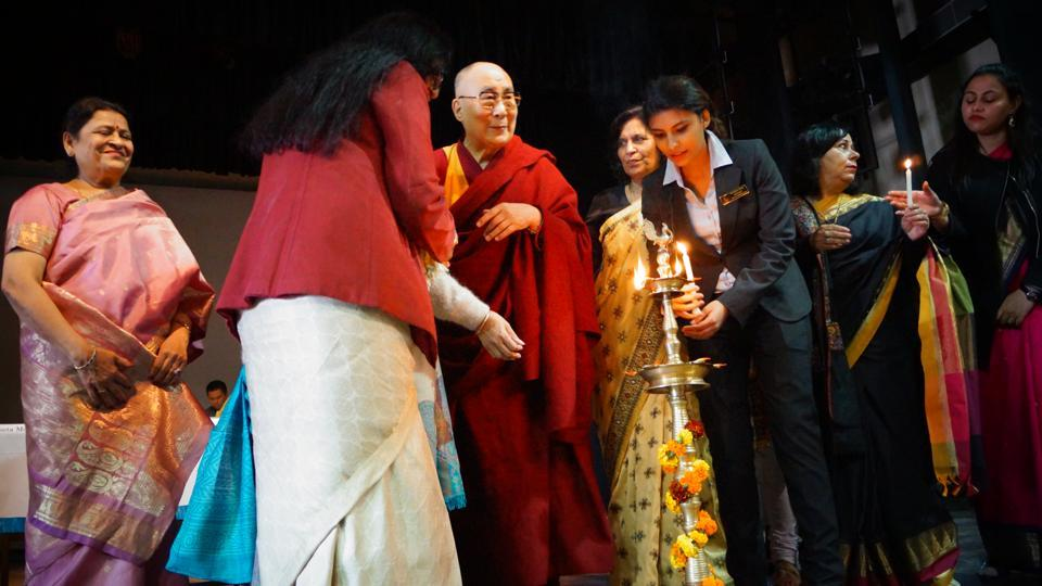 His Holiness the Dalai Lama,Jesus and mary College,JMC