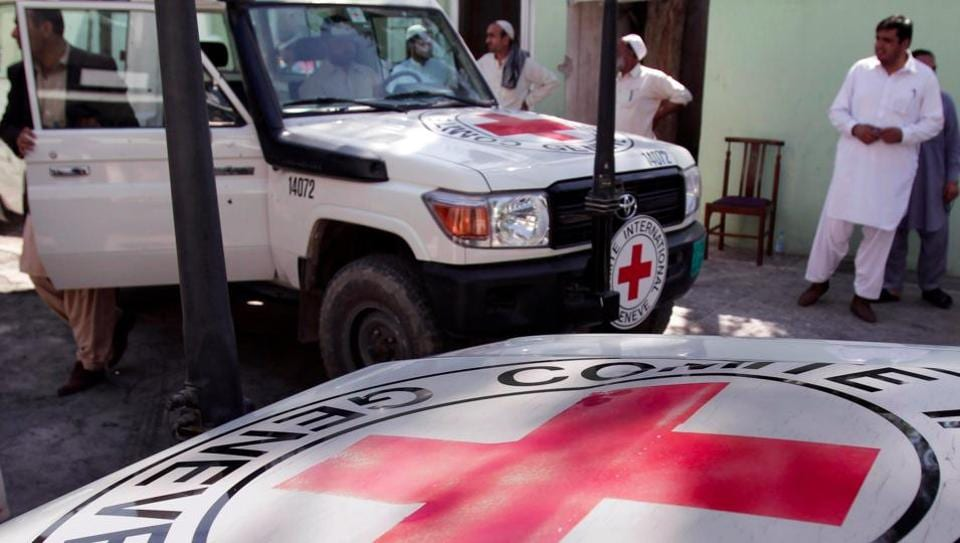 Afghanistan Red Cross,Afghan Red Cross workers,ISIS