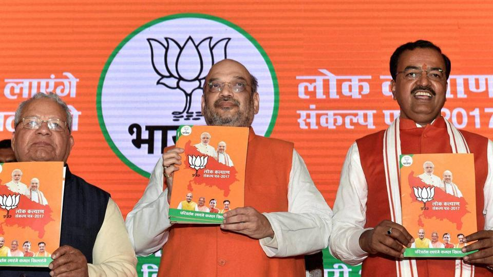 Triple talaq has found its way into the election manifesto of the BJP for Uttar Pradesh, a state with 19% Muslim population with high (40%) to moderate (25%) concentration in west UP, polling on February 11 and 15