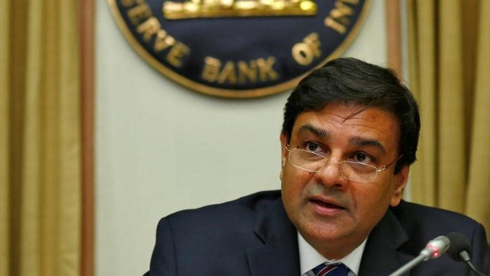 The Reserve Bank of India (RBI) governor Urjit Patel speaks during a news conference after the bimonthly monetary policy review in Mumbai.