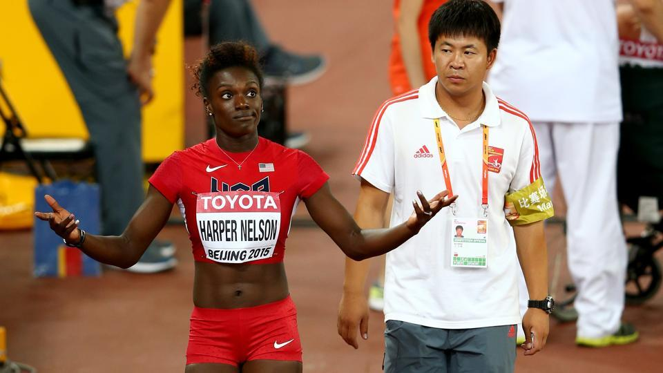 Dawn Harper-Nelson tested positive for the banned diuretic hydrochlorothiazide, according to USADA.