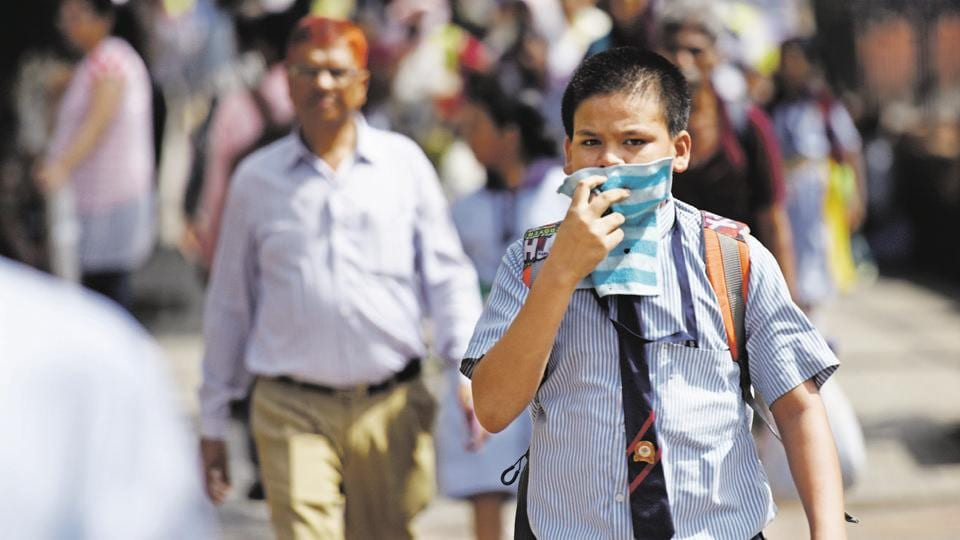 A Greenpeace India report had said Delhi tops the list of 20 most polluted cities in the country where 12 lakh deaths take place every year due to air pollution.