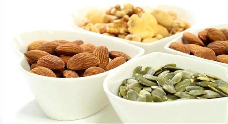 Nuts help activate body's own defences against potential toxic elements that cause cancer.