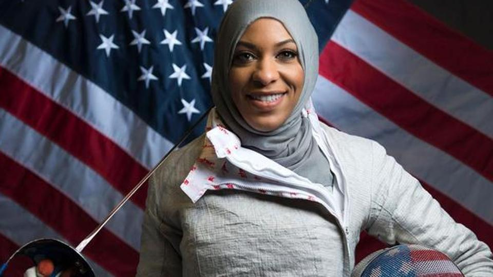 Ibtihaj Muhammad  became the first female Muslim-American athlete to earn a medal at the Olympics when she won bronze in team sabre in Rio in 2016.