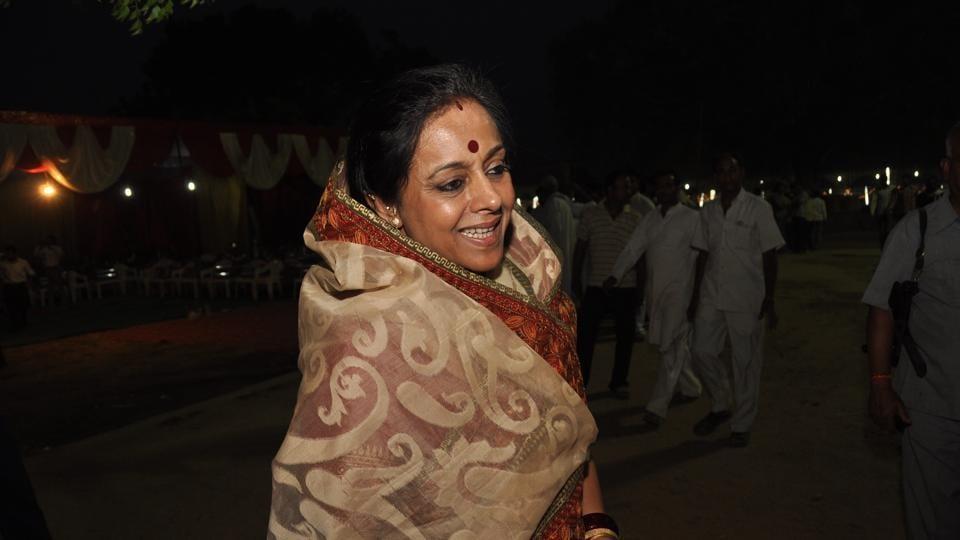 Rani Garima Singh, estranged wife of Congress MP Sanjay Sinh is in fray against Sinh's wife Rani Amita Singh
