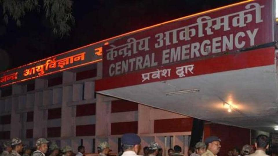 The student's body has been handed over to the local police for an autopsy at the Rajendra Institute of Medical Sciences.