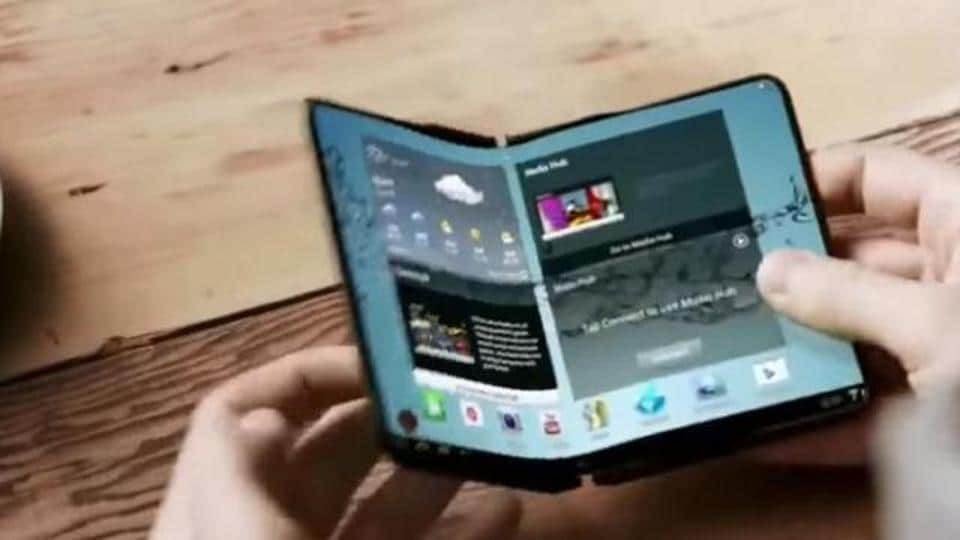 A prototype of foldable display is finished with development and the company is hoping to mass-produce the device.