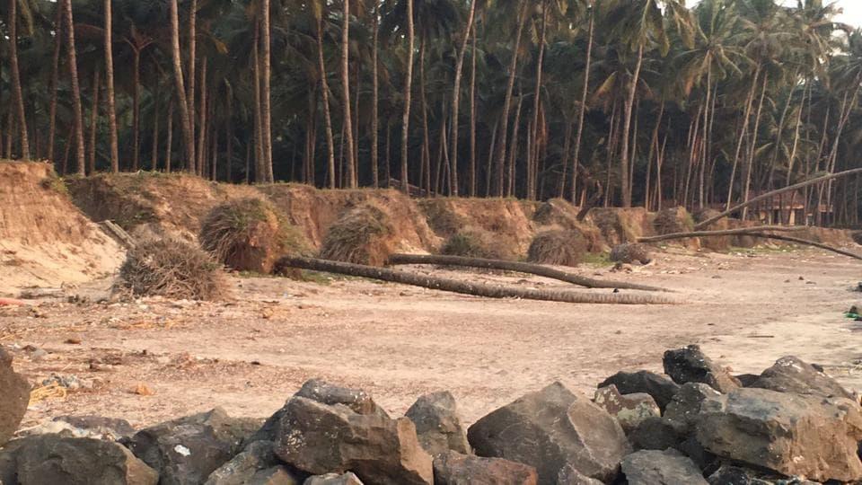sand mining,Nandgaon beach,Awaaz Foundation