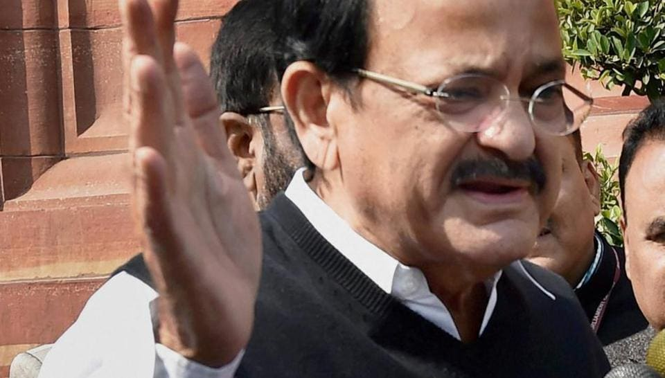 Union minister M Venkaiah Naidu had questioned the Congress' decorum in the Rajya Sabha on Wednesday after they created a ruckus in response to Prime Minister Narendra Modi's 'raincoat' jibe at Manmohan Singh.