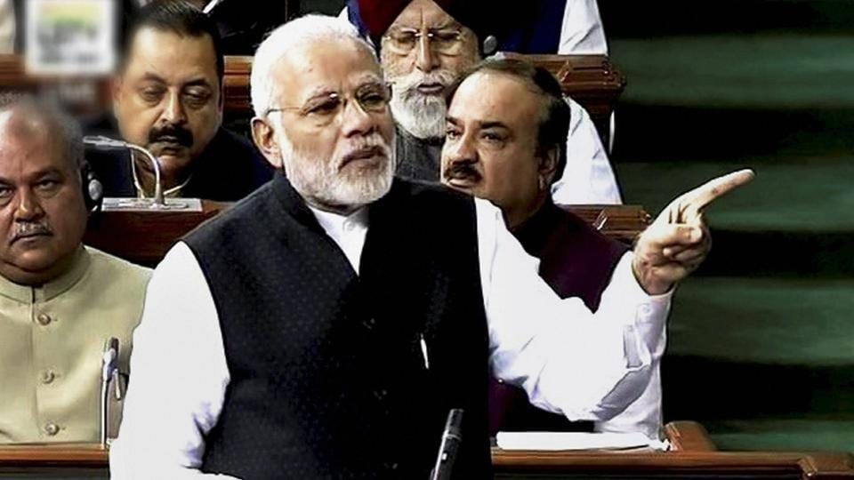 Prime Minister Narendra Modi had taunted Manmohan in the Rajya Sabha, saying that he showered with a raincoat on to maintain his unblemished image when multiple scams were cropping up around him.