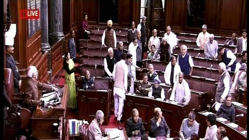 parliament as it happened lok sabha adjourned till march 9