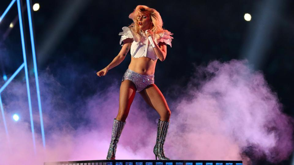 This is her second high-profile appearance in a week. On February 5, she performed at the Super Bowl in Houston, Texas. (Reuters)