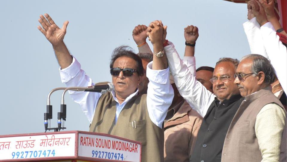 Khan was addressing an election rally in support of Samajwadi Party's 'brahmin' candidate, Pandit Ram Asre Sharma.