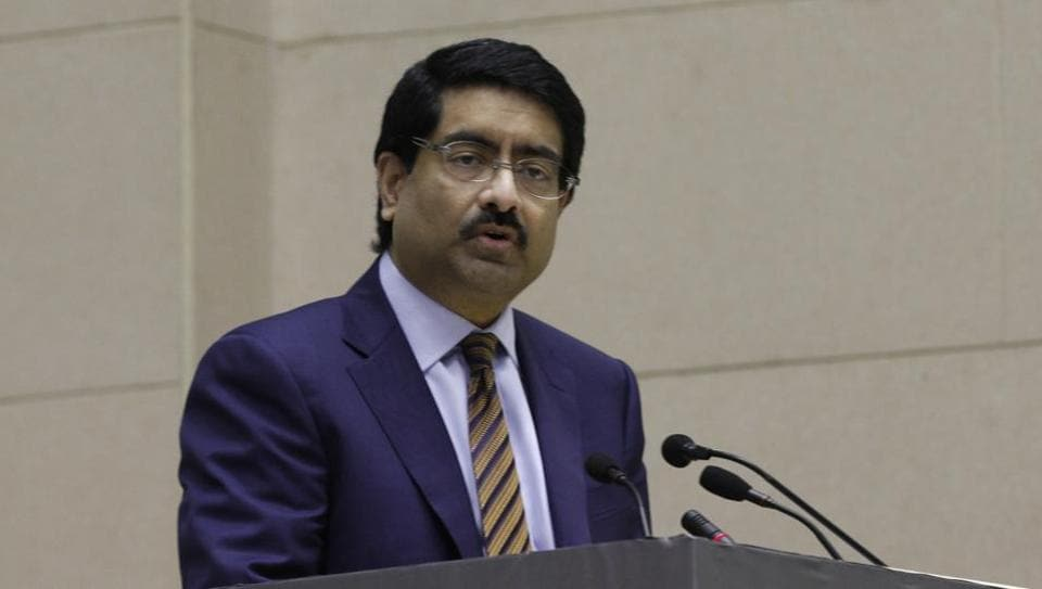 Aditya Birla Group chairman Kumar Mangalam Birla at the launch of 'Make in India' initiative in New Delhi, in this file photo from Deptember 2014.