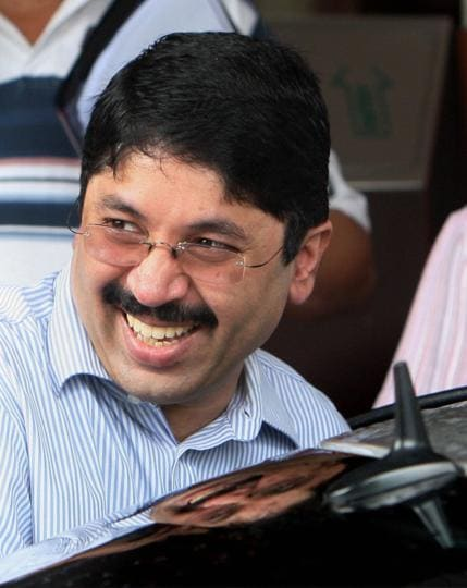 New Delhi : A file photo of former Telecom Minister and DMK member Dayanidhi Maran. A special court in Delhi on Thursday discharged Maran, his brother Kalanidhi Maran and others in the corruption and money laundering cases connected with the Aircel-Maxis deal.