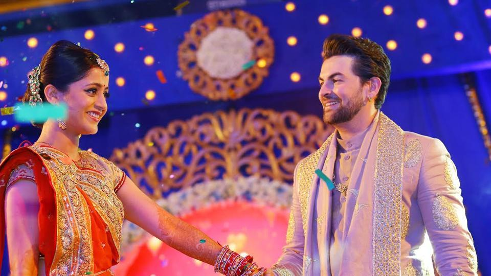 Neil Nitin Mukesh and Rukmini Sahay on their sangeet.