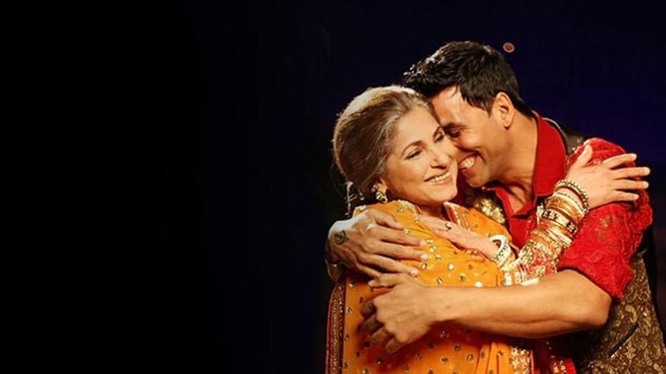 During a Q& A session on Twitter with his fans on Thursday, Akshay Kumar said his mother-in-law - Dimple Kapadia is his best friend in Bollywood.