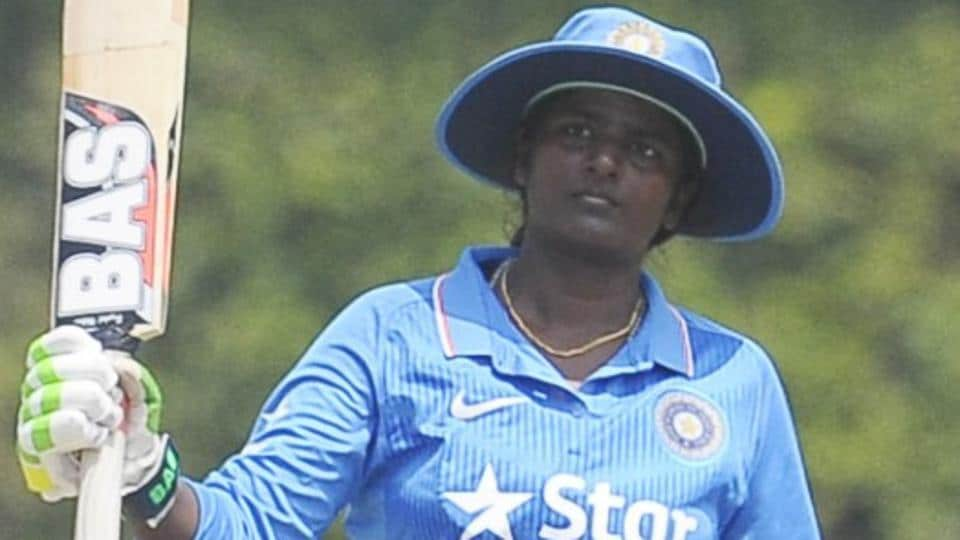 Thirush Kamini struck a career-best 113 not out as India beat Ireland in the ICC Women's World Cup Qualifier.