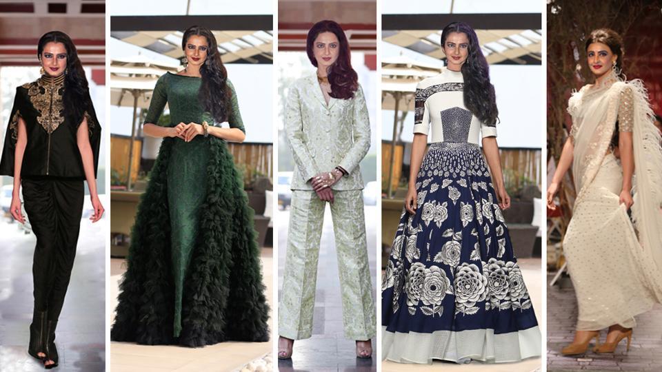 Rekha's fashion makeover,Bollywood fashion,style