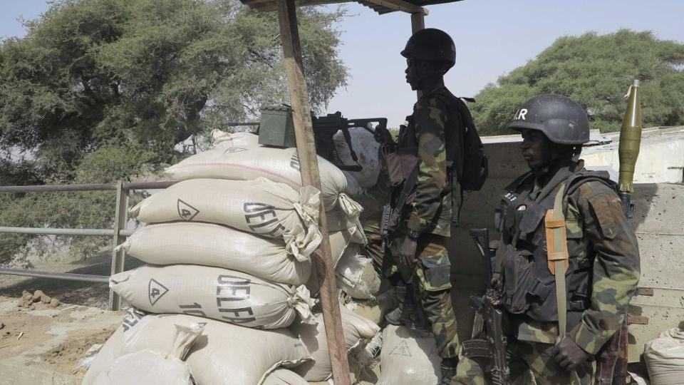 At least eight Nigerian soldiers were killed in a Boko Haram ambush on Friday.