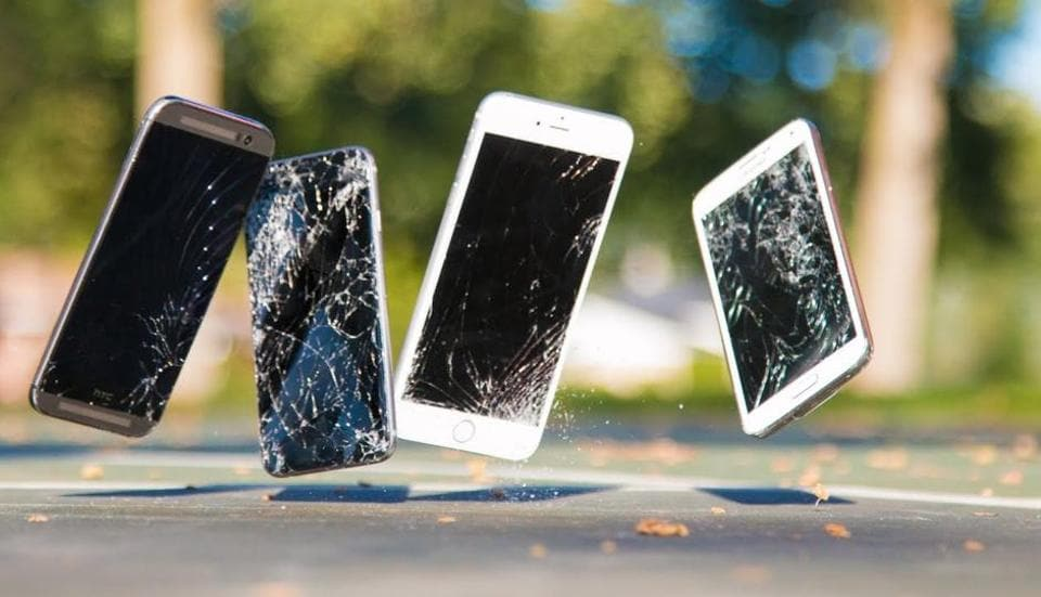 There's nothing more heartbreaking than to see people using phones with cracked screens