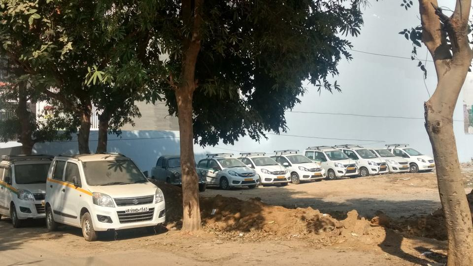 Ola,Uber,Drivers protest