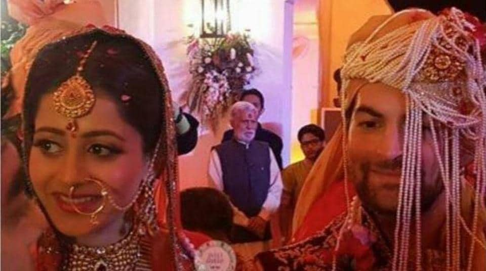 Neil Nitin Mukesh,Rukmini Sahay,Neil Nitin Mukesh wedding pics