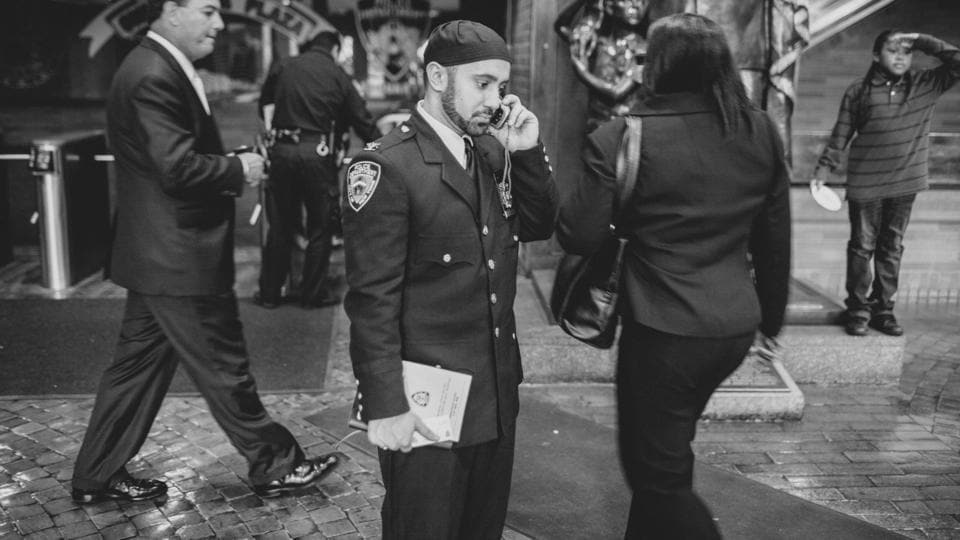 Imam Khalid Latif, a chaplain working with the New York Police Department