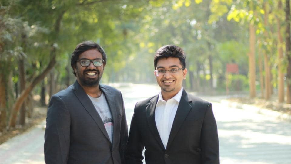 Sharath Kumar (left) wants to be an author and Jay Shah (right) a social entrepreneur.