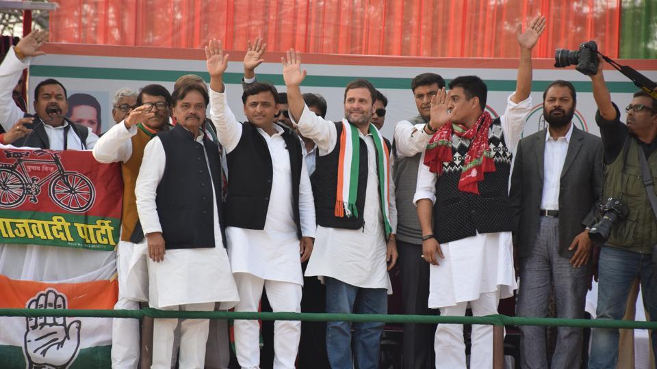 The candidates of two partners are face to face on Unchahar and Sareni seats in Rae Bareli and  Gauriganj assembly seat of Amethi.