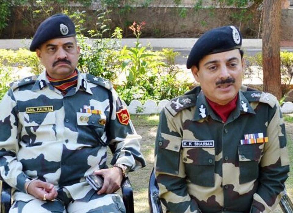 Rajasthan,Food video,BSF chief