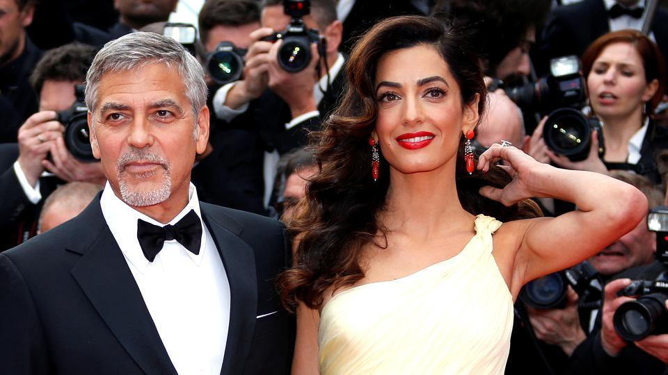 George Clooney and his wife Amal are expecting their first kids.