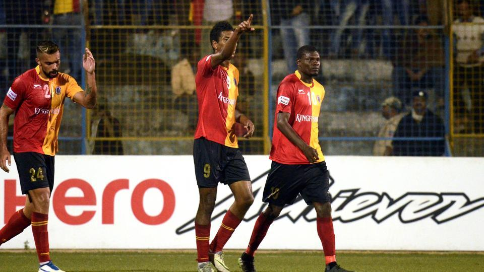 East Bengal F.C. play Mohun Bagan A.C. in the I-League derby at Siliguri on Sunday.