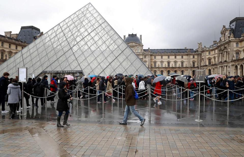 France remains on high alert after a wave of attacks which began two years ago that has claimed more than 200 lives. Recently, a machete-wielding attacker lunged at four soldiers near one of the Louvre Museum's entrances.