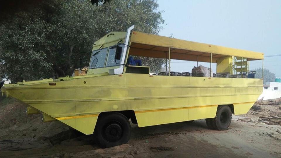 2 months,amphibious bus,project