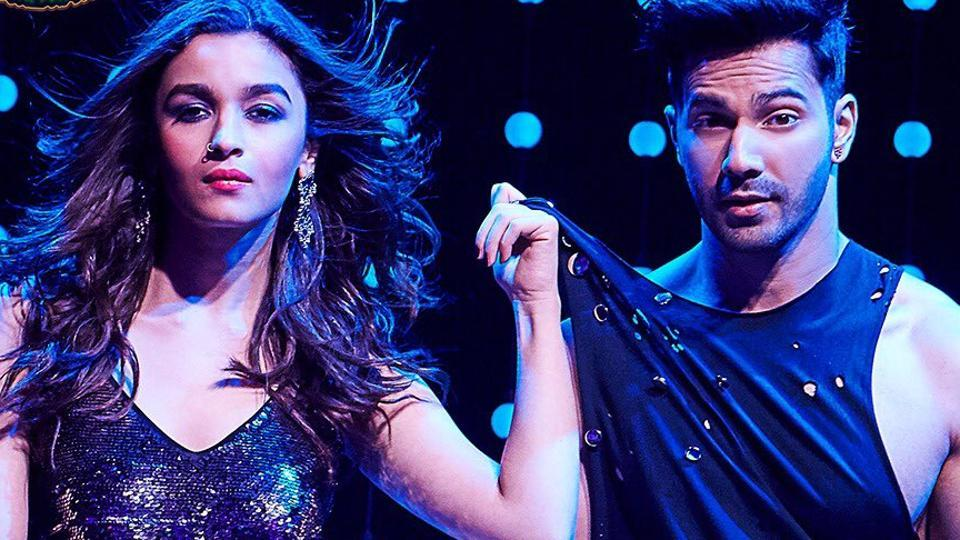 Alia Bhatt and Varun Dhawan try their hands at Madhuri Dixit and Sanjay Dutt's hit '90's song, Tamma Tamma Loge.