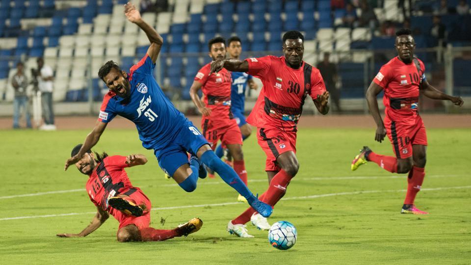I-League,Bengaluru FC,Minerva Punjab FC
