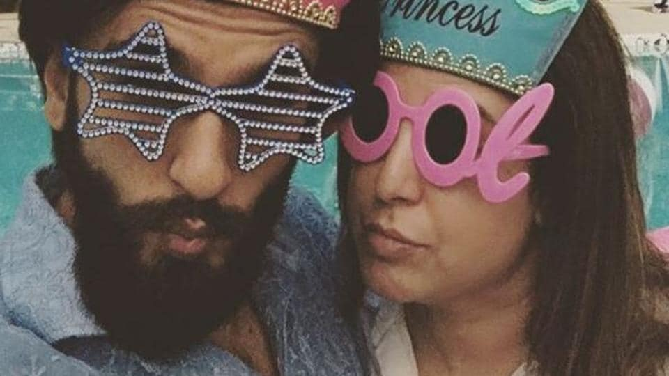 On Friday, the Bajirao Mastani actor posted an Instagram of him and filmmaker Farah Khan dancing to a famous song from Rekha's film Khoon Bhari Maang.