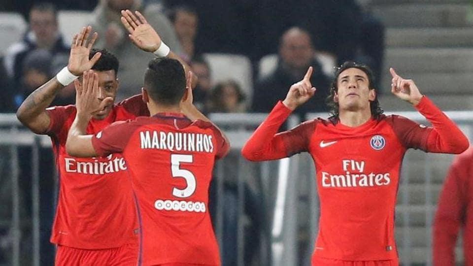 Edinson Cavani,Saint-Germain FC,FC Girondins de Bordeaux