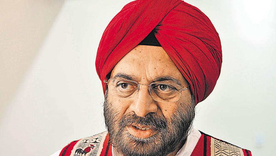 Gen JJ Singh (retd), former army chief and Shiromani Akali Dal candidate from Patiala assembly segment.